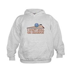 I Dont Roll on Shabbos Kids Hoodie