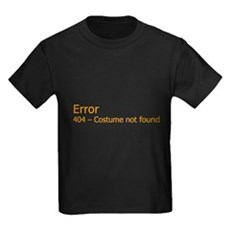 Costume Not Found Kids T-Shirt