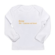 Costume Not Found Long Sleeve Infant T-Shirt