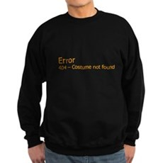 Costume Not Found Dark Sweatshirt