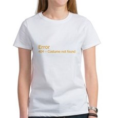 Costume Not Found Womens T-Shirt