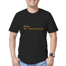 Costume Not Found Mens Fitted Dark T-Shirt
