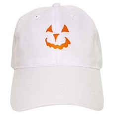 Pumpkin Face Cap
