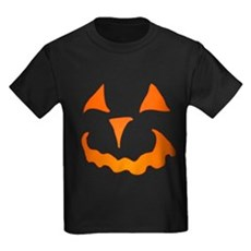 Pumpkin Face Kids T-Shirt