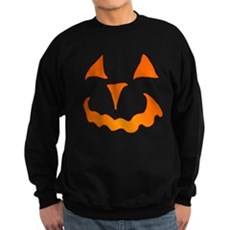 Pumpkin Face Dark Sweatshirt