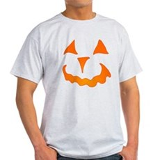 Pumpkin Face Light T-Shirt