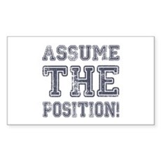 Assume the Position Rectangle Sticker