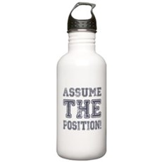 Assume the Position Stainless Water Bottle 1 Liter