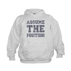 Assume the Position Kids Hoodie