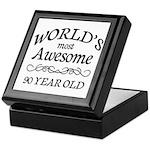 Awesome 90 Year Old Keepsake Box