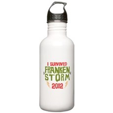 I Survived Frankenstorm Stainless Water Bottle 1.0