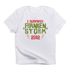 I Survived Frankenstorm Infant T-Shirt