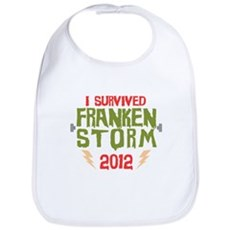 I Survived Frankenstorm Bib