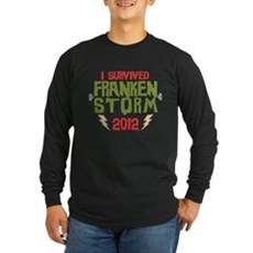 I Survived Frankenstorm Long Sleeve T-Shirt