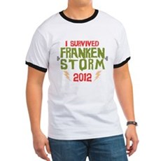 I Survived Frankenstorm Ringer T