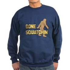 Gone Squatchin Dark Sweatshirt