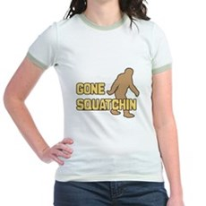 Gone Squatchin Jr Ringer T-Shirt