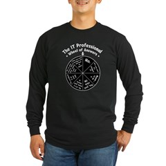 IT Wheel of Answers Long Sleeve T-Shirt