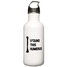 I Found this Humerus Stainless Water Bottle 1 Liter