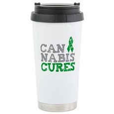 Cannabis Cures Stainless Steel Travel Mug