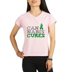 Cannabis Cures Performance Dry T-Shirt