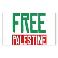 Free Palestine ????? ?????? Rectangle Sticker