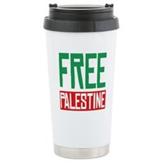 Free Palestine ????? ?????? Stainless Steel Travel