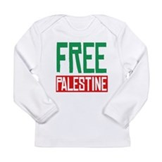 Free Palestine ????? ?????? Long Sleeve Infant T-S