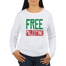 Free Palestine ????? ?????? Womens Long Sleeve T-
