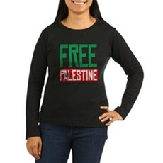 Free Palestine ????? ?????? Womens Long Sleeve Da