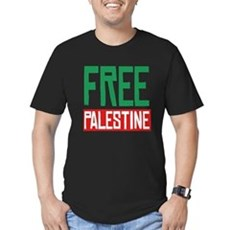 Free Palestine ????? ?????? Mens Fitted Dark T-Shirt