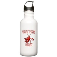 That Fish Cray Stainless Water Bottle 1 Liter