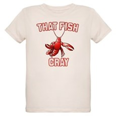 That Fish Cray Organic Kids T-Shirt