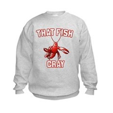 That Fish Cray Kids Sweatshirt