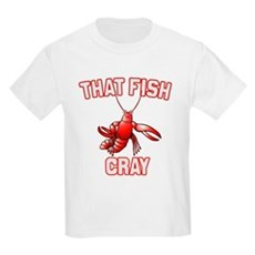 That Fish Cray Kids Light T-Shirt