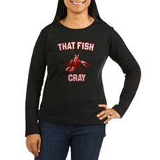 That Fish Cray Womens Long Sleeve T-Shirt