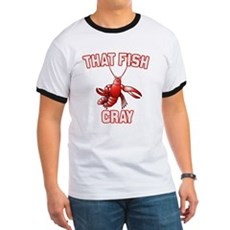 That Fish Cray Ringer T