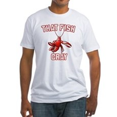 That Fish Cray Fitted T-Shirt