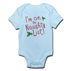 Im on the Naughty List Infant Bodysuit