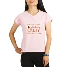 Holiday Cheer Elf Performance Dry T-Shirt