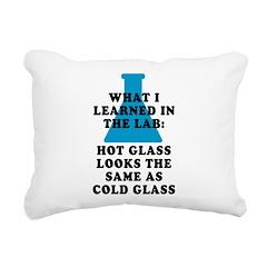 Lab Glass Rectangular Canvas Pillow