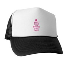 Bitches Love Cake Trucker Hat