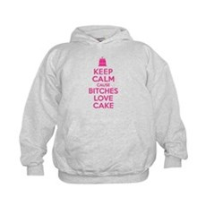 Bitches Love Cake Kids Hoodie