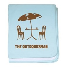The Outdoorsman baby blanket