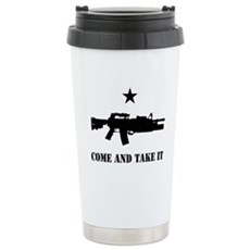 Come and Take It Stainless Steel Travel Mug