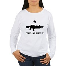 Come and Take It Womens Long Sleeve T-Shirt