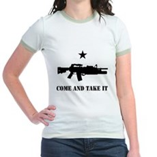 Come and Take It Jr Ringer T-Shirt