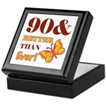 90 And Better Than Ever! Keepsake Box