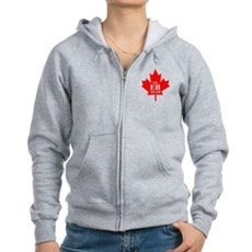 The Eh Team Womens Zip Hoodie