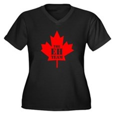 The Eh Team Plus Size V-Neck Shirt